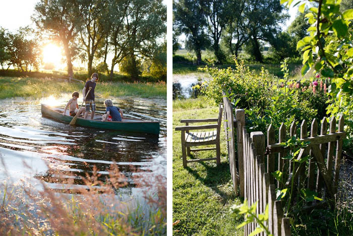 Tipps für (Familien) Urlaube in Brandenburg Haus Strauss in Klein Thurow am Schaalsee, Mecklenburg Vorpommern