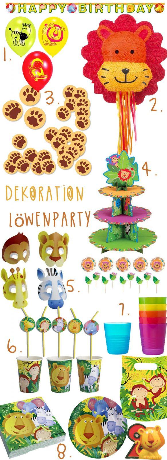 Pinterest Geburtstagsparty Planung: Friedrichs Loewenparty Dekoration