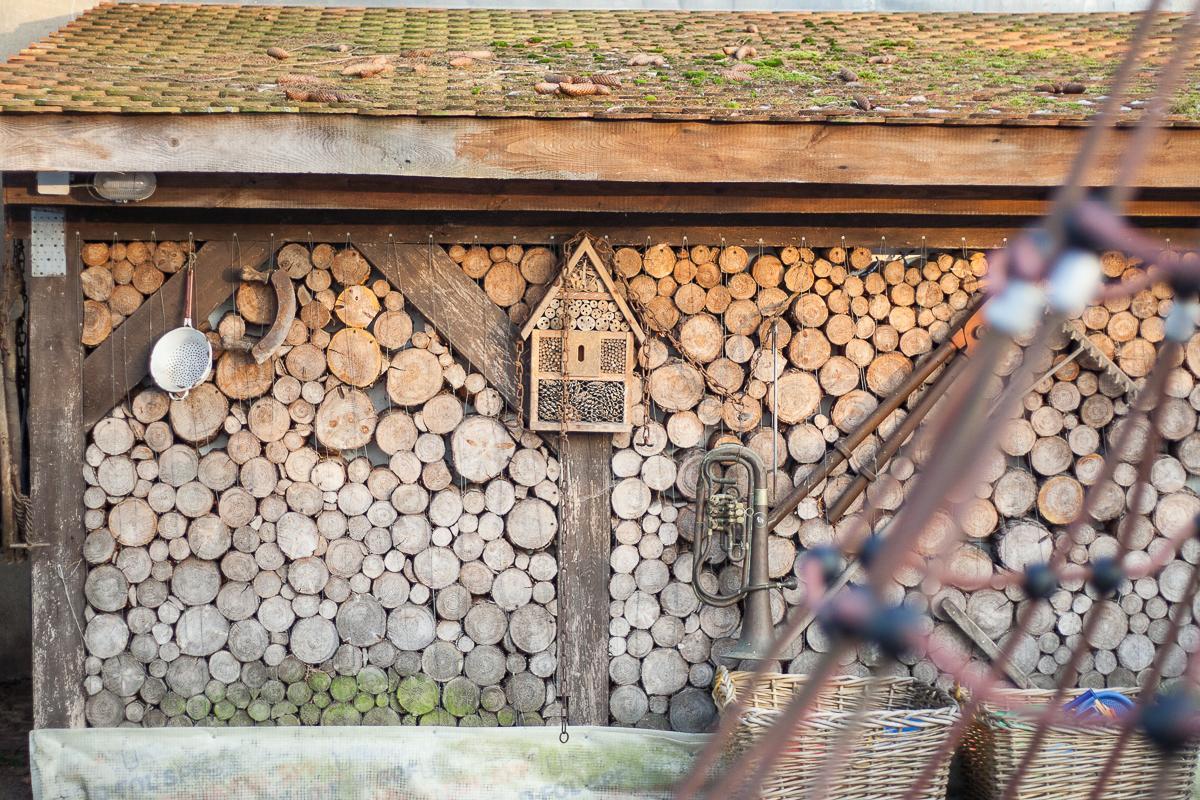 Gasthof zur Linde Wildenbruch Flaeming Holzmauer | Pinspiration
