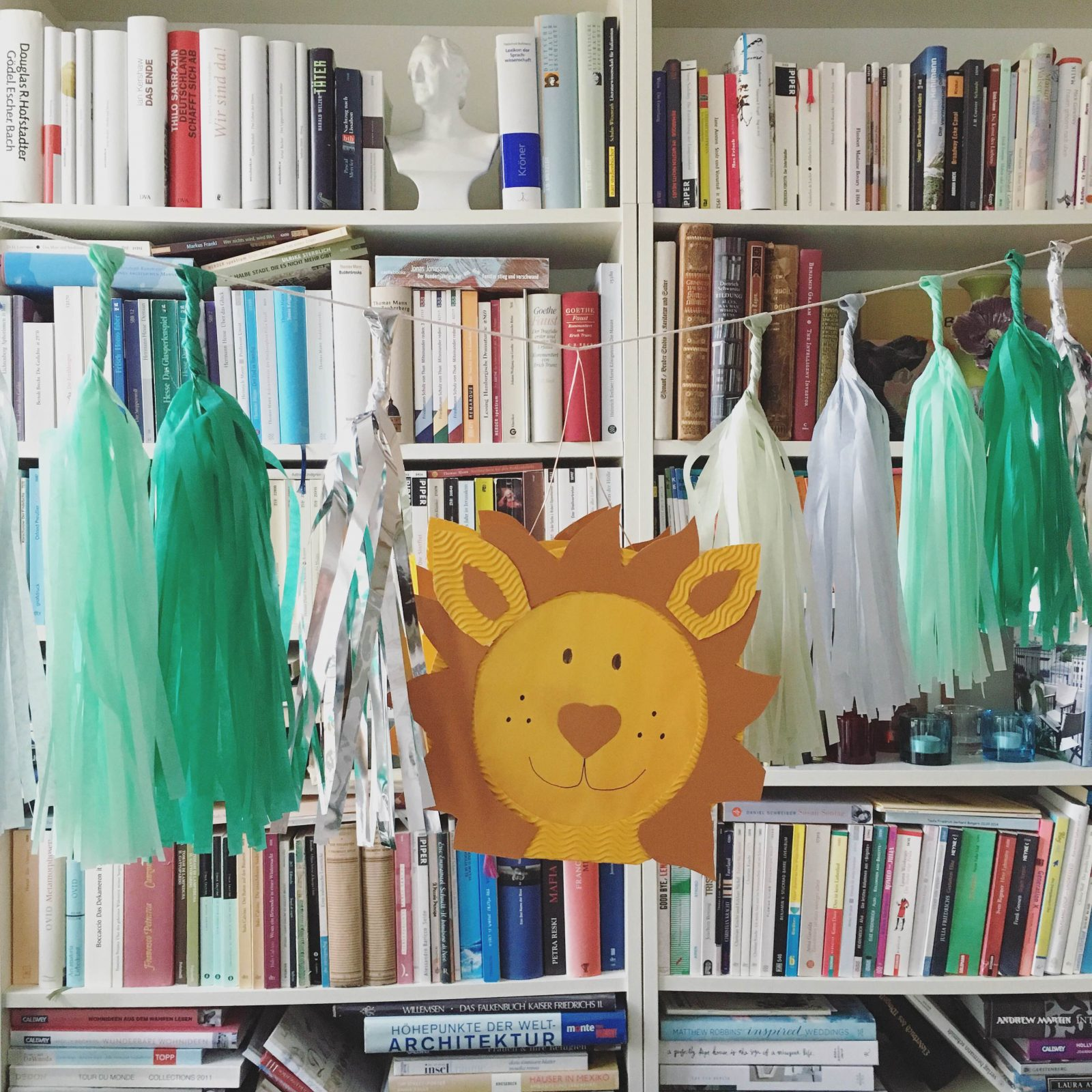 Kindergeburtstag planen mit Pinterest: Friedrichs Loewenparty und Geschenkideen
