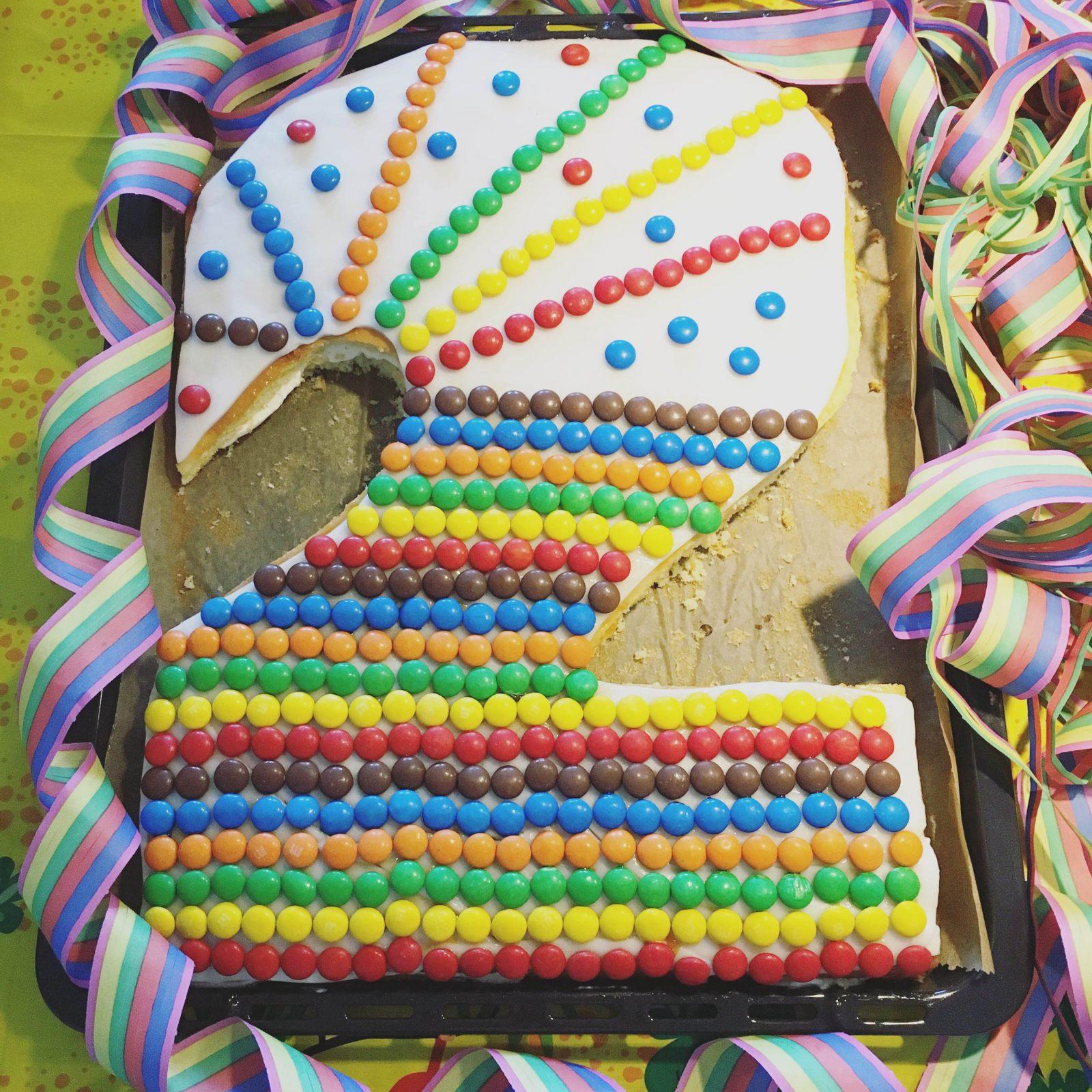 Kindergeburtstag planen mit Pinterest: Friedrichs Loewenparty Geburtstagskuchen