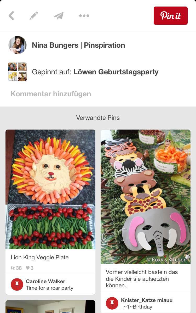 Kindergeburtstag planen mit Pinterest: Verwandte Pins