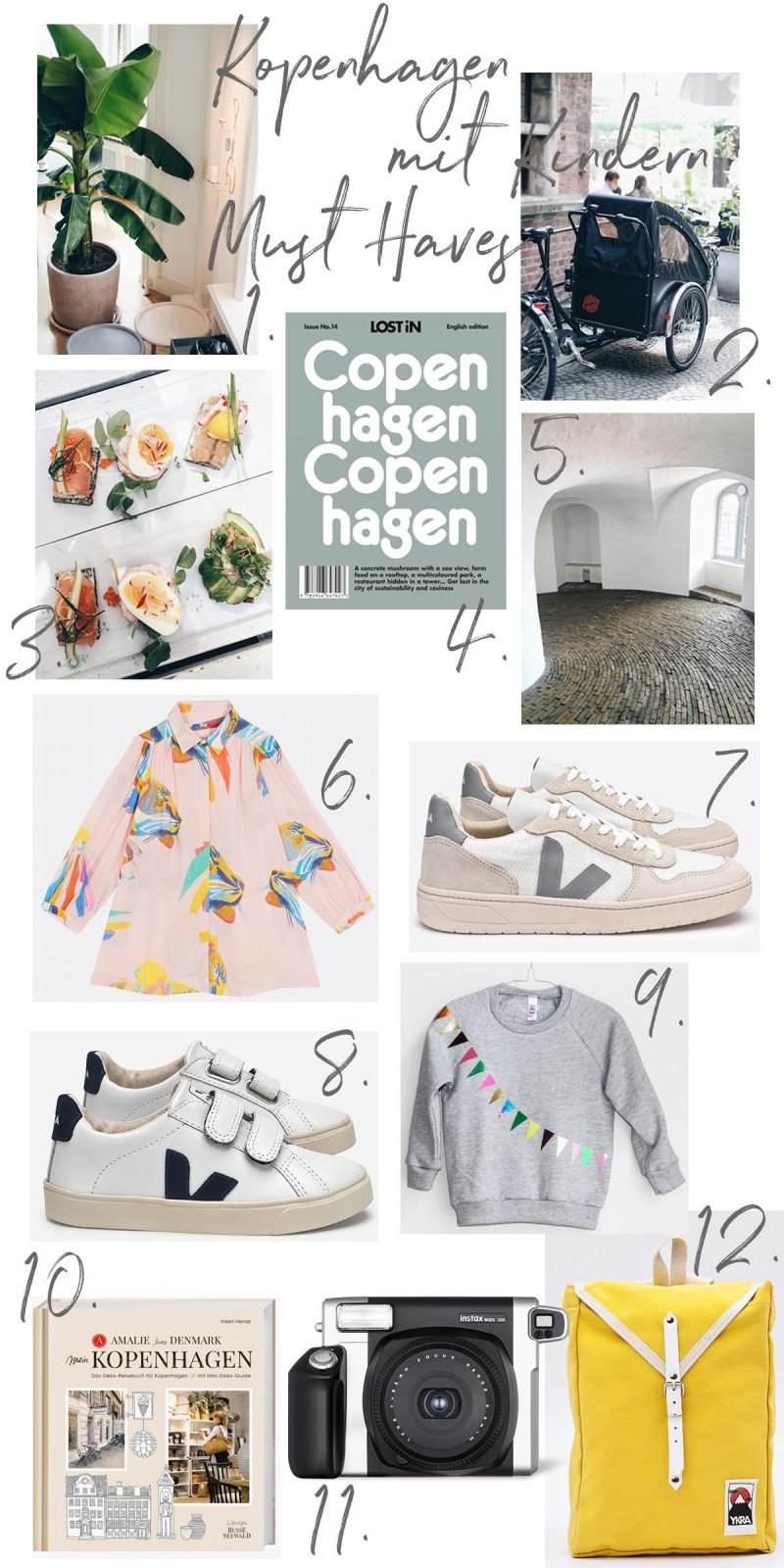 Kopenhagen mit Kindern Must Haves | Pinspiration