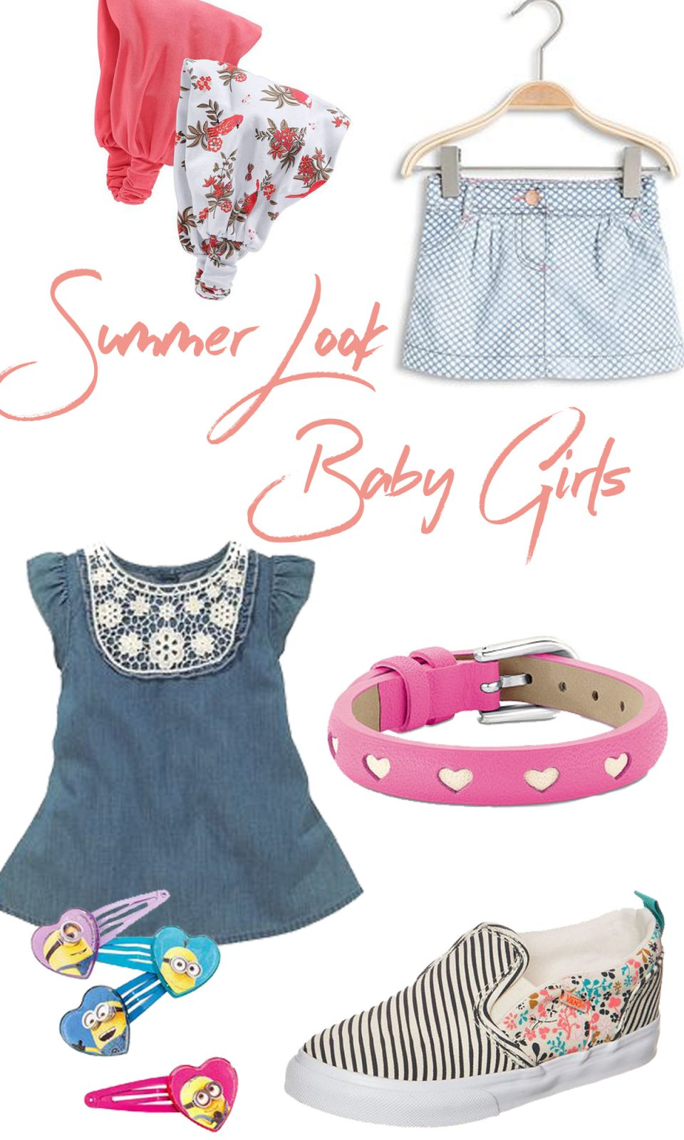 Otto Sommer Outfits Summer Look Baby Girls