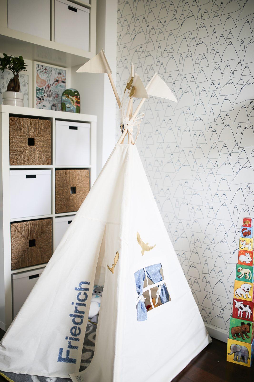Pinspiration Kinderzimmer IKEA Moozle Teepee