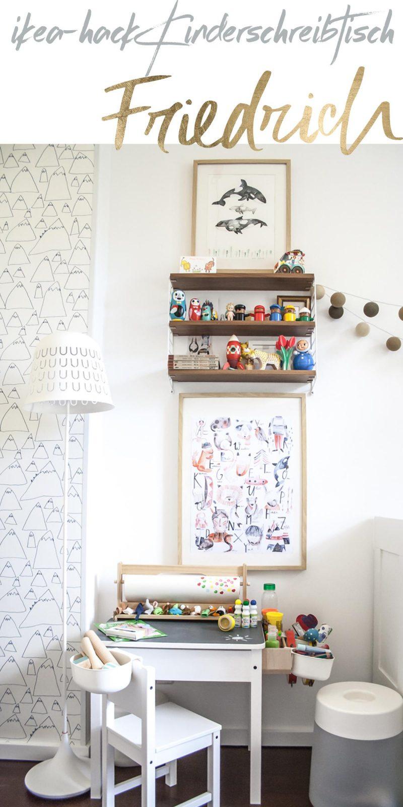 IKEA Hack: Friedrichs Erlebnisschreibtisch | Pinspiration