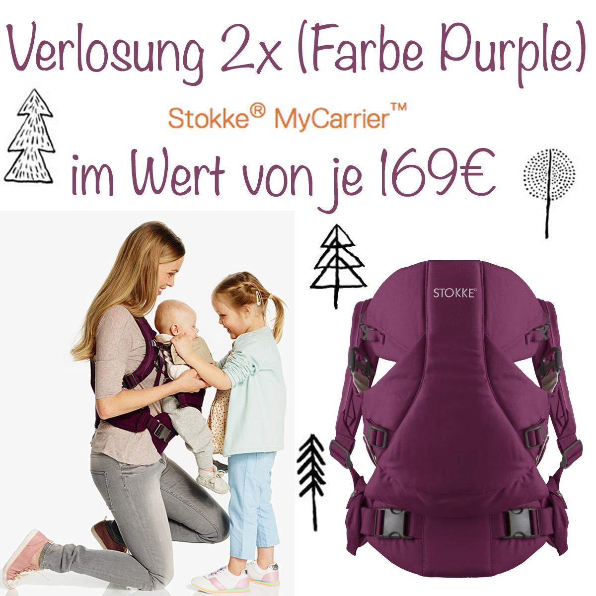 Stokke MyCarrier Verlosung jetzt auf www.pinspiration.de