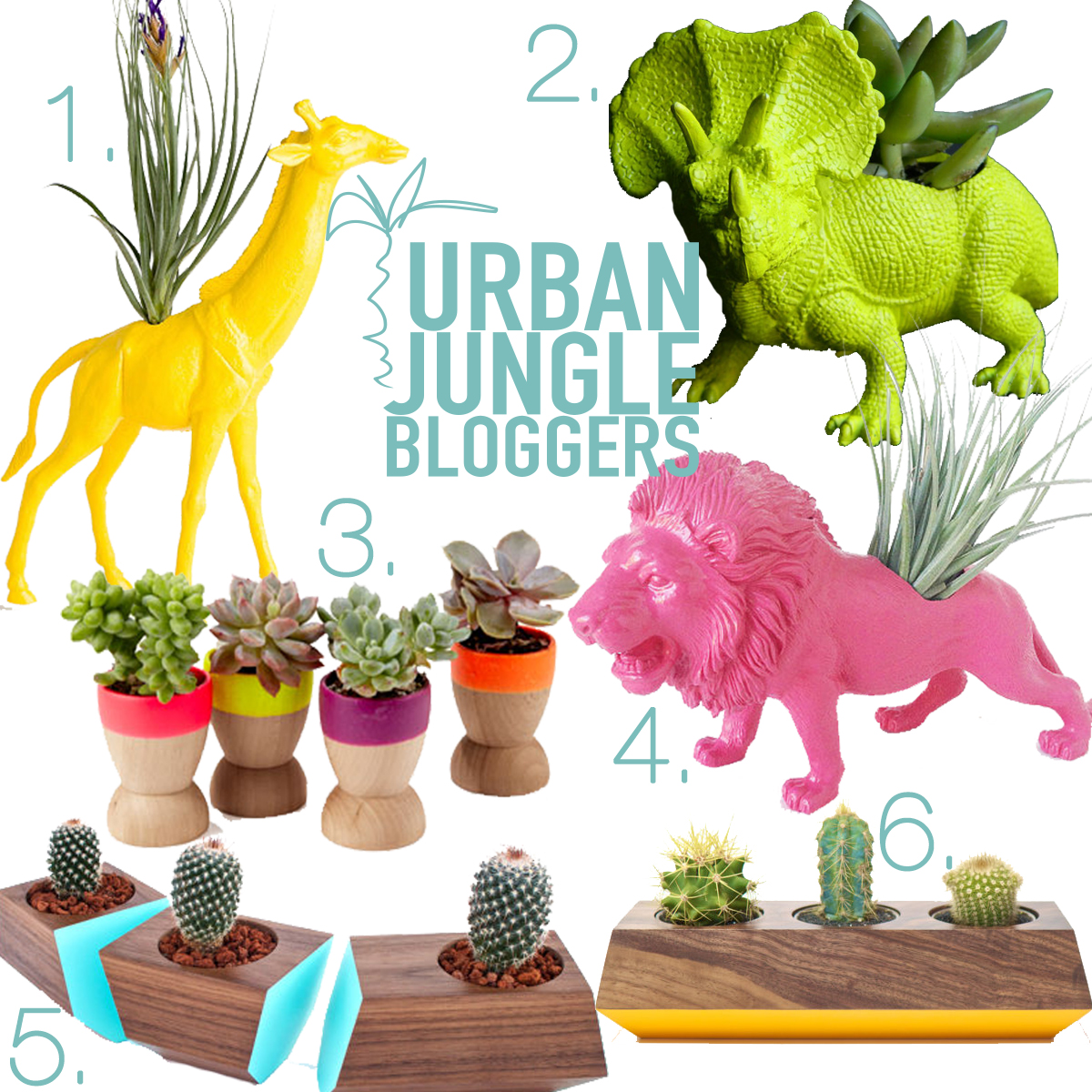 Urban Jungle Bloggers june neon