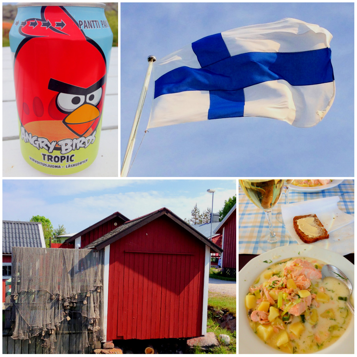 Utoe-Finnland-Essen-Angrybirds