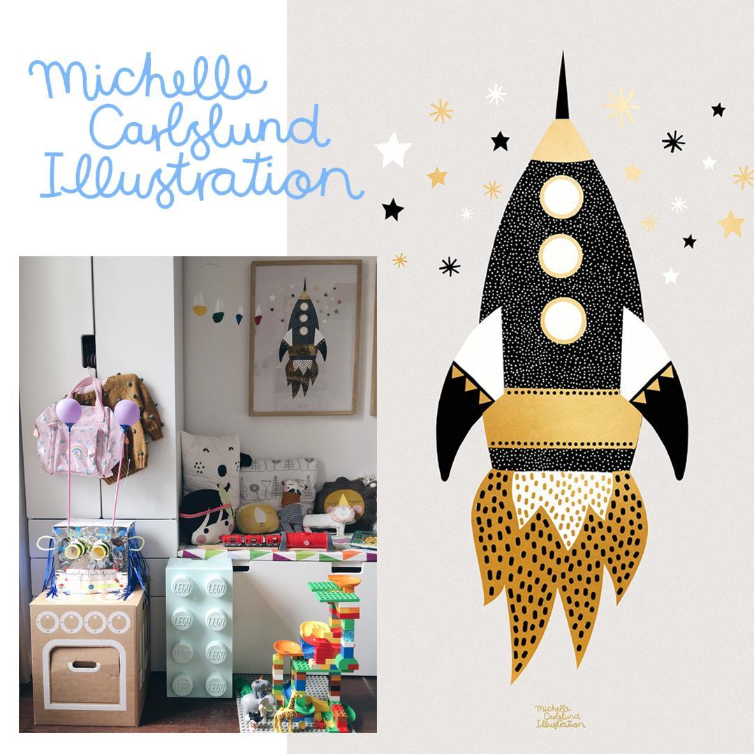 Verlosung Michelle Carlslund Poster | Pinspiration