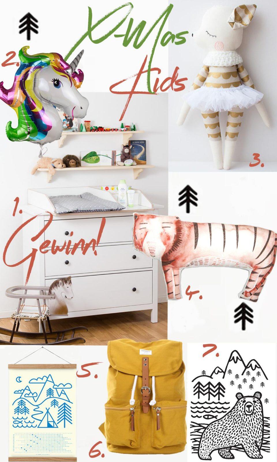 Weihnachtsgeschenke für Kinder & VERLOSUNG