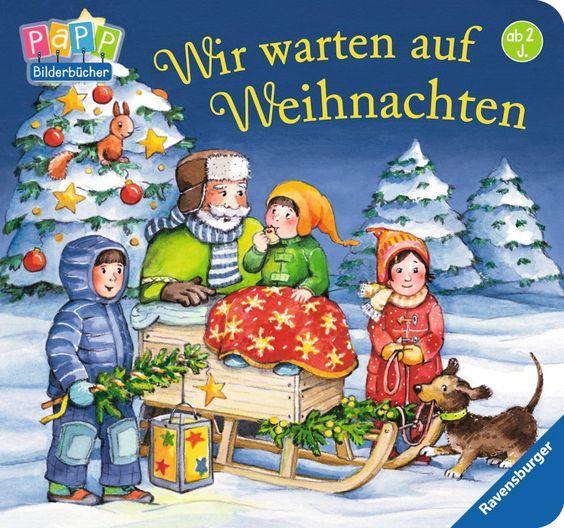 Wir warten auf Weihnachten Bilderbuch Ravensburger