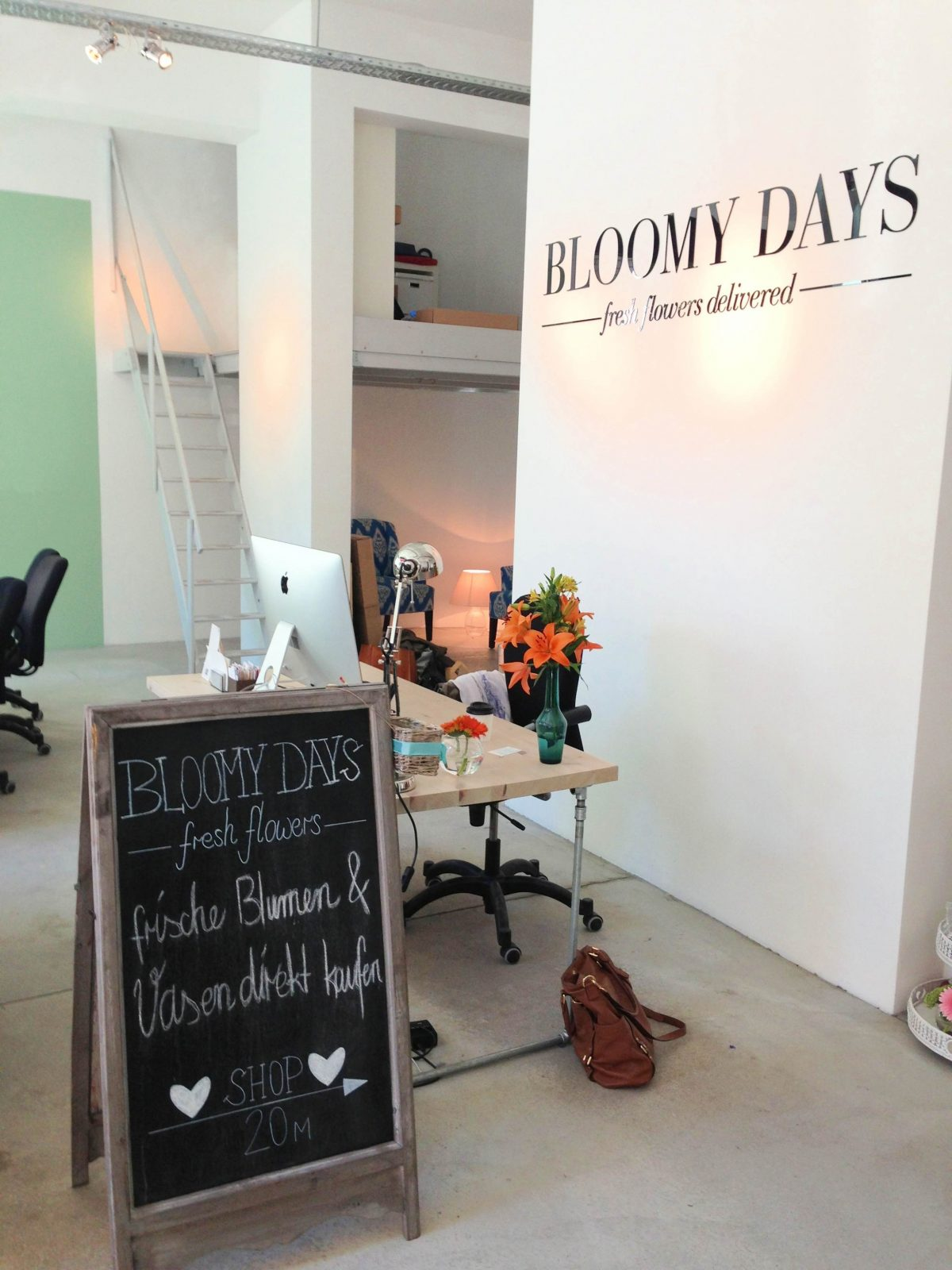 Bloomy Days Blumenbindeparty, Blumen