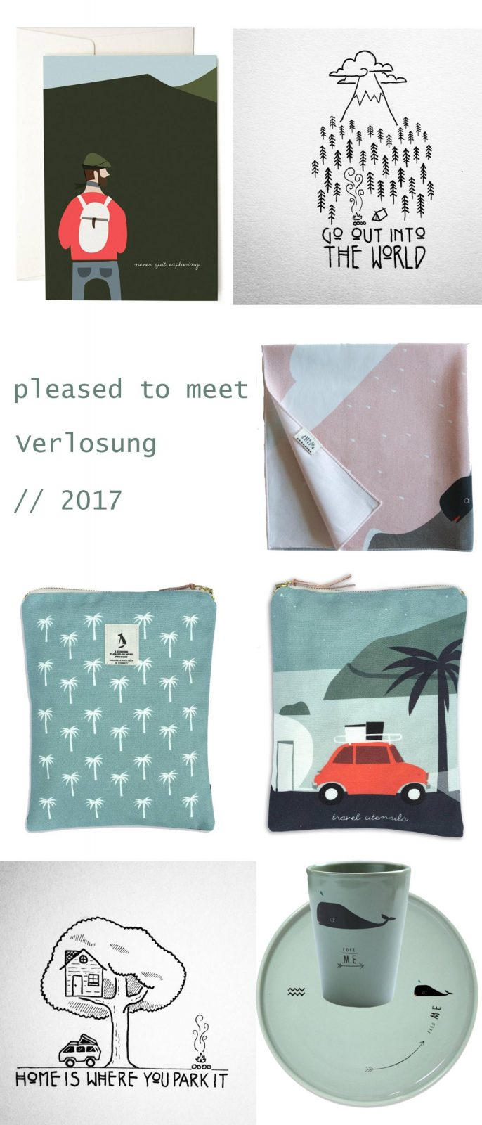 Verlosung für Slow Travelling Fans mit pleased to meet | Pinspiration
