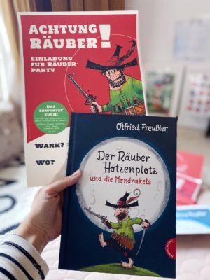 Friedrich wird 6! Deko, DIY & Geburtstagstorten für einen Räuber Hotzenplotz Mondraketen Kindergeburtstag   Pinspiration.de
