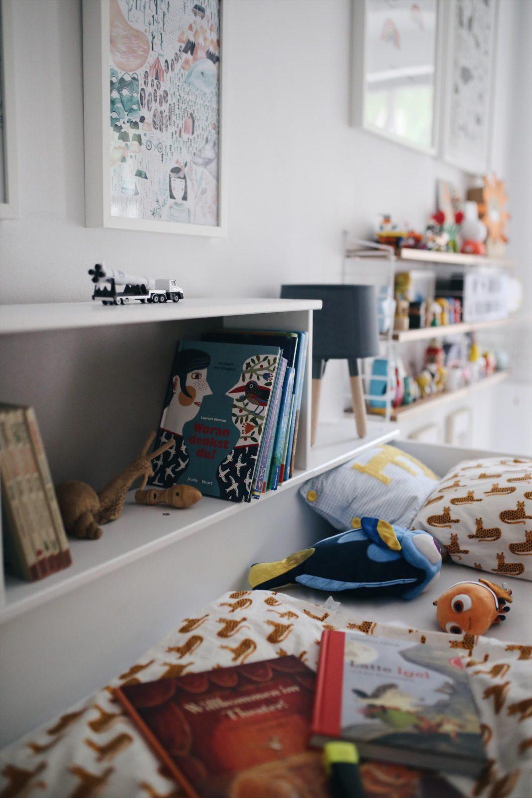 Makeover: Friedrich und Gretas gemeinsames Kinderzimmer | #Kinderzimmer #Kinderzimmermakeover #makeover #kidsroommakeover | Pinspiration.de