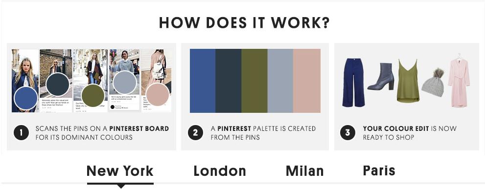 Topshop Pinterest Color Palette Anleitung