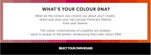 Topshop Pinterest Color Palette