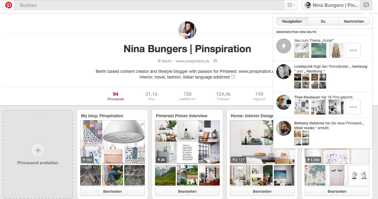 Kindergeburtstag planen mit Pinterest: Pinterest Neuigkeiten Suchfunktion