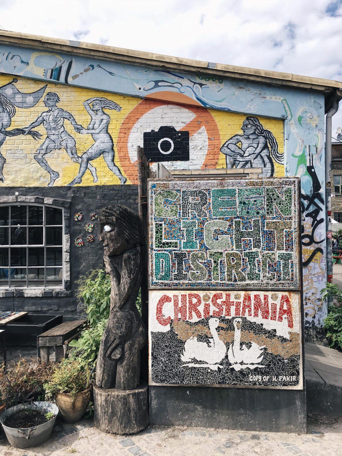 Familienausflug Kopenhagen Christiania | Pinspiration