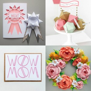 Collage Muttertag Geschenkideen