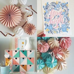 Collage Origami & Illustration Giochi di carta Silvia Raga