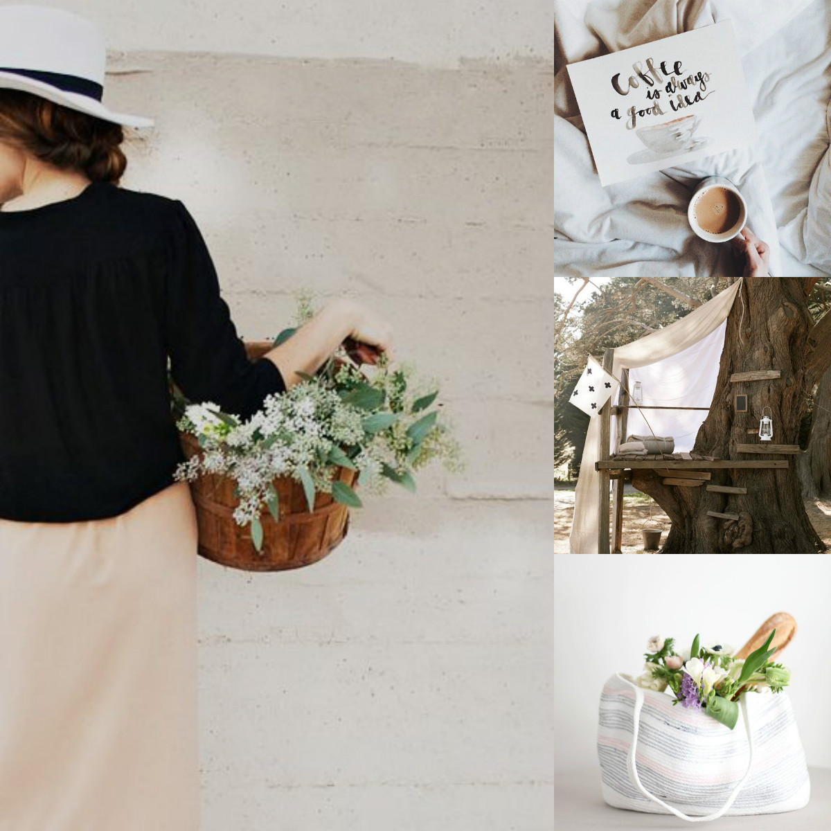 Collage Pinspiration Sommer Trends