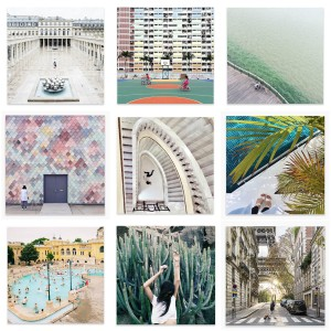 Collage PostCollective Art Prints by Instagramers