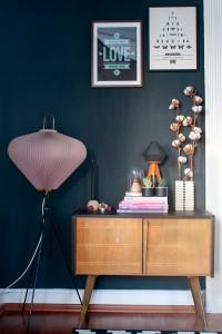 Pinterest Pinner Interview mit Antonia von Craftifair, hier ihre Couchecke mit Sideboard