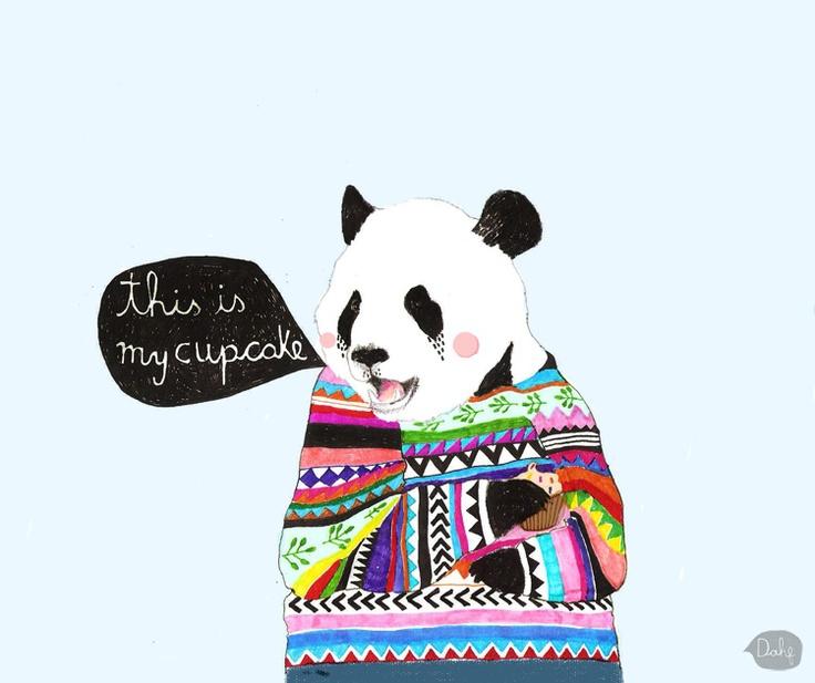 Daniela Dahf Henriquez cupcake bear