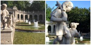 Der gestiefelte Kater, Märchenbrunnen Volkspark Friedrichshain