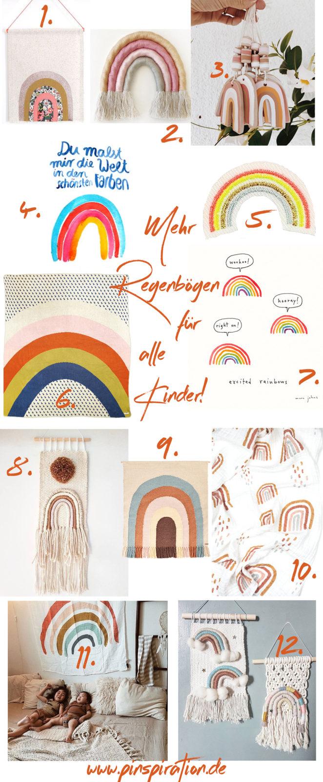 Weltkindertag oder wir können nie genügend Regenbögen im Leben haben! | #Weltkindertag #Kindertag #Regenbogen #Kinderzimmer #Kinderzimmerdekoration #Regenbogenkunst | Pinspiration.de