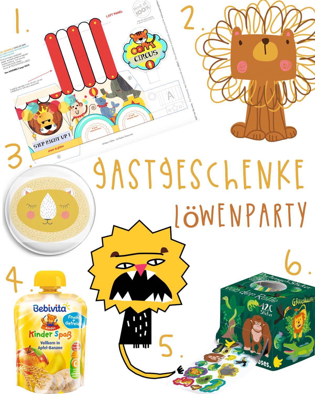 Pinterest Geburtstagsparty Planung: Friedrichs Loewenparty Gastgeschenke