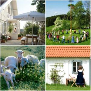 Grillenoed schwedisches Familien Ferienhaus Bayern