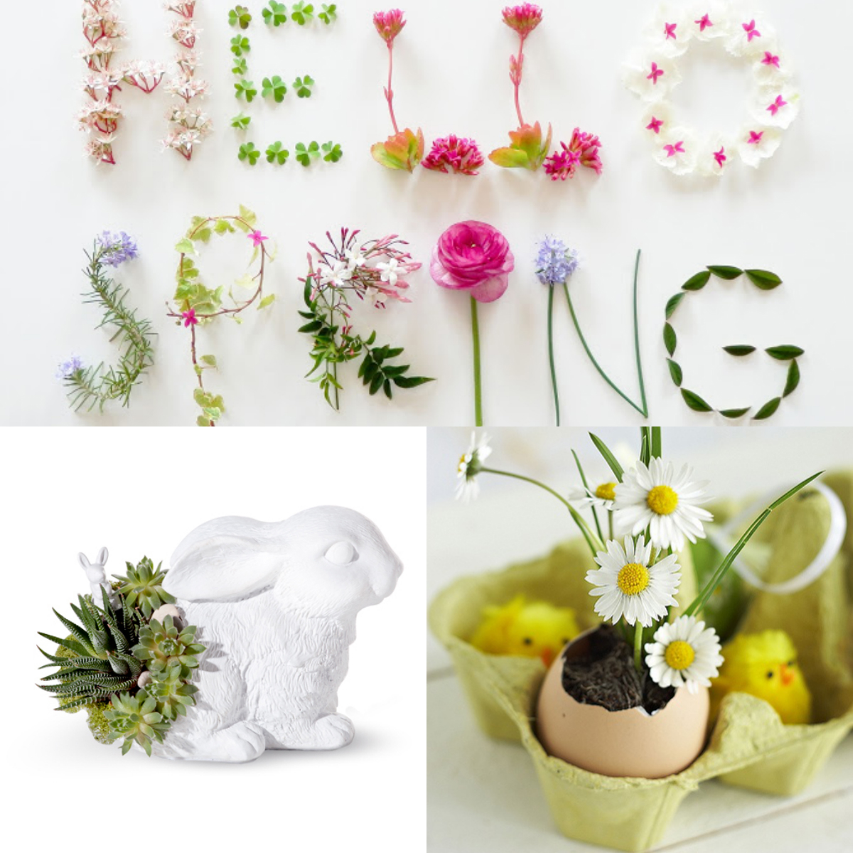Hello Spring -Easter Decoration