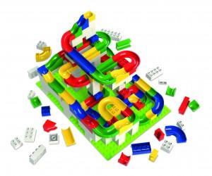 Verlosung und Weihnachtsgeschenke auf www.pinspiration.de Hubelino 200tlg Baukasten