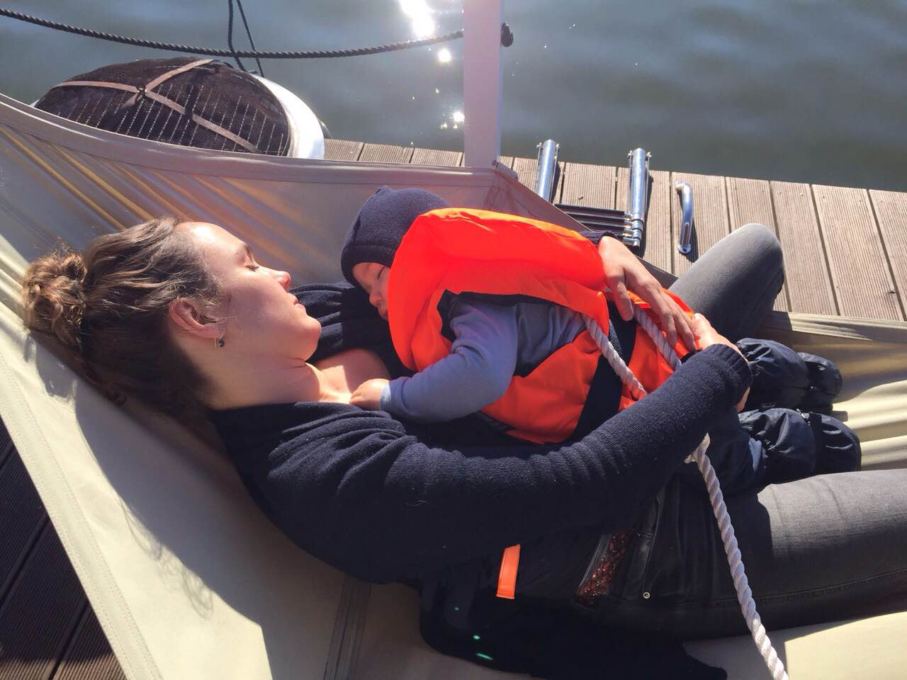 Pinspiration BunBo Bungalowboots-Tour in Brandenburg