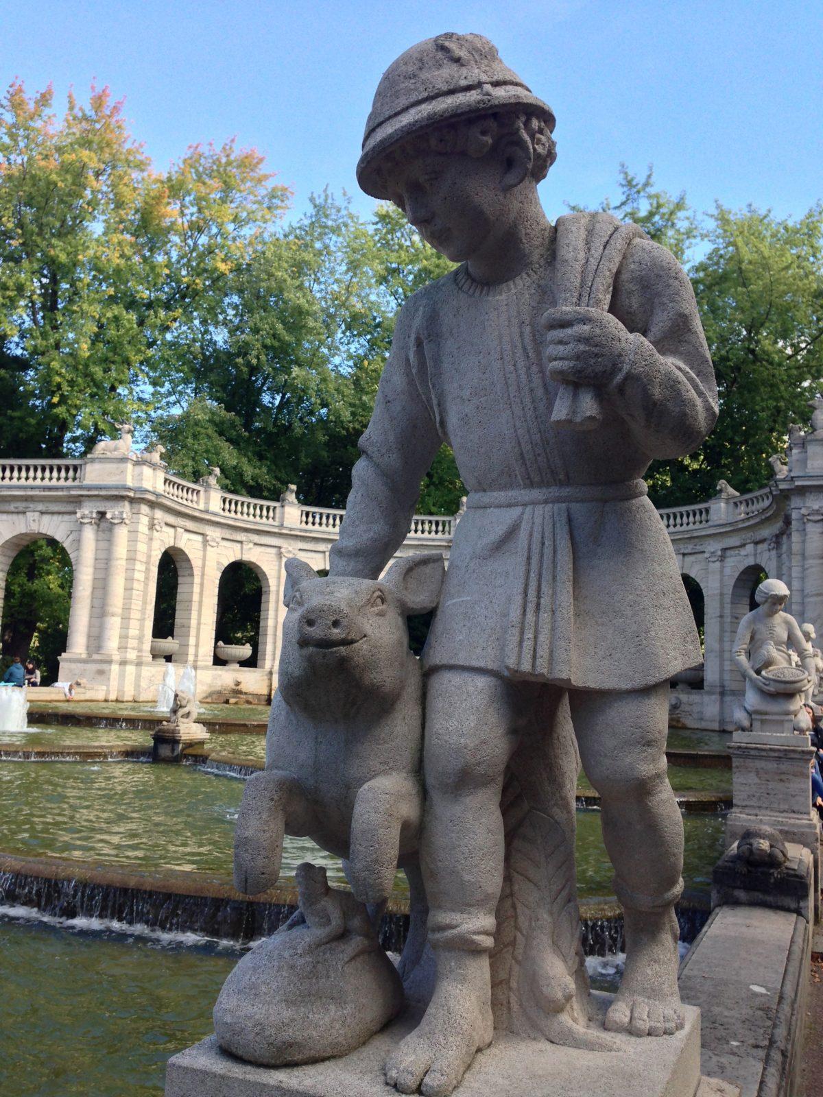 Hans im Glück, Märchenbrunnen Volkspark Friedrichshain