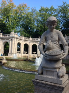 Aschenputtel, Märchenbrunnen Volkspark Friedrichshain