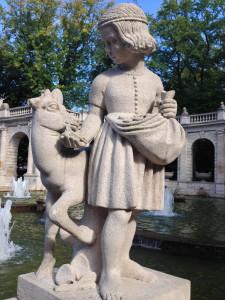 Brüderchen und Schwesterchen, Märchenbrunnen Volkspark Friedrichshain