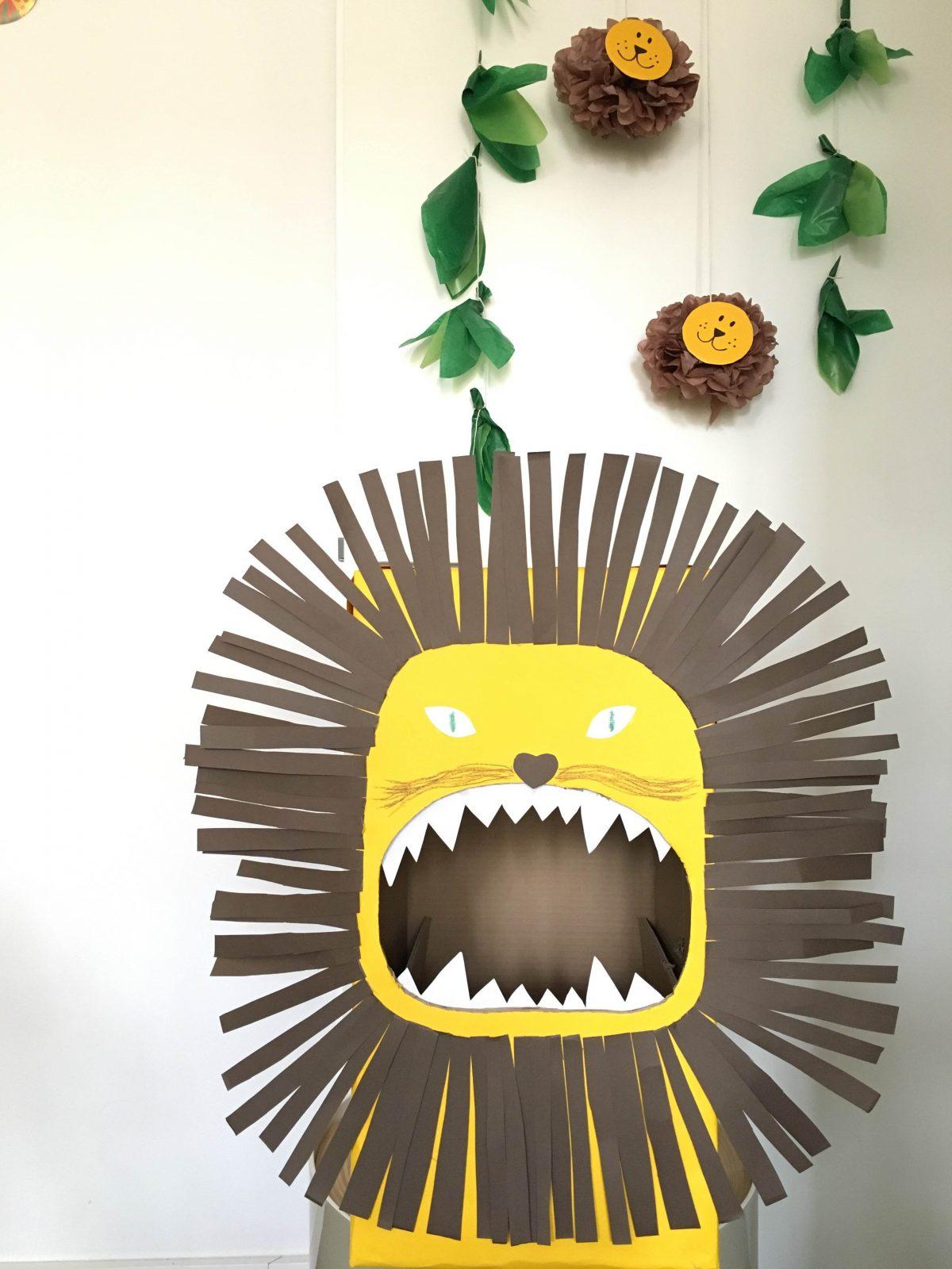 Kindergeburtstag planen mit Pinterest: Friedrichs Loewenparty Dekoration