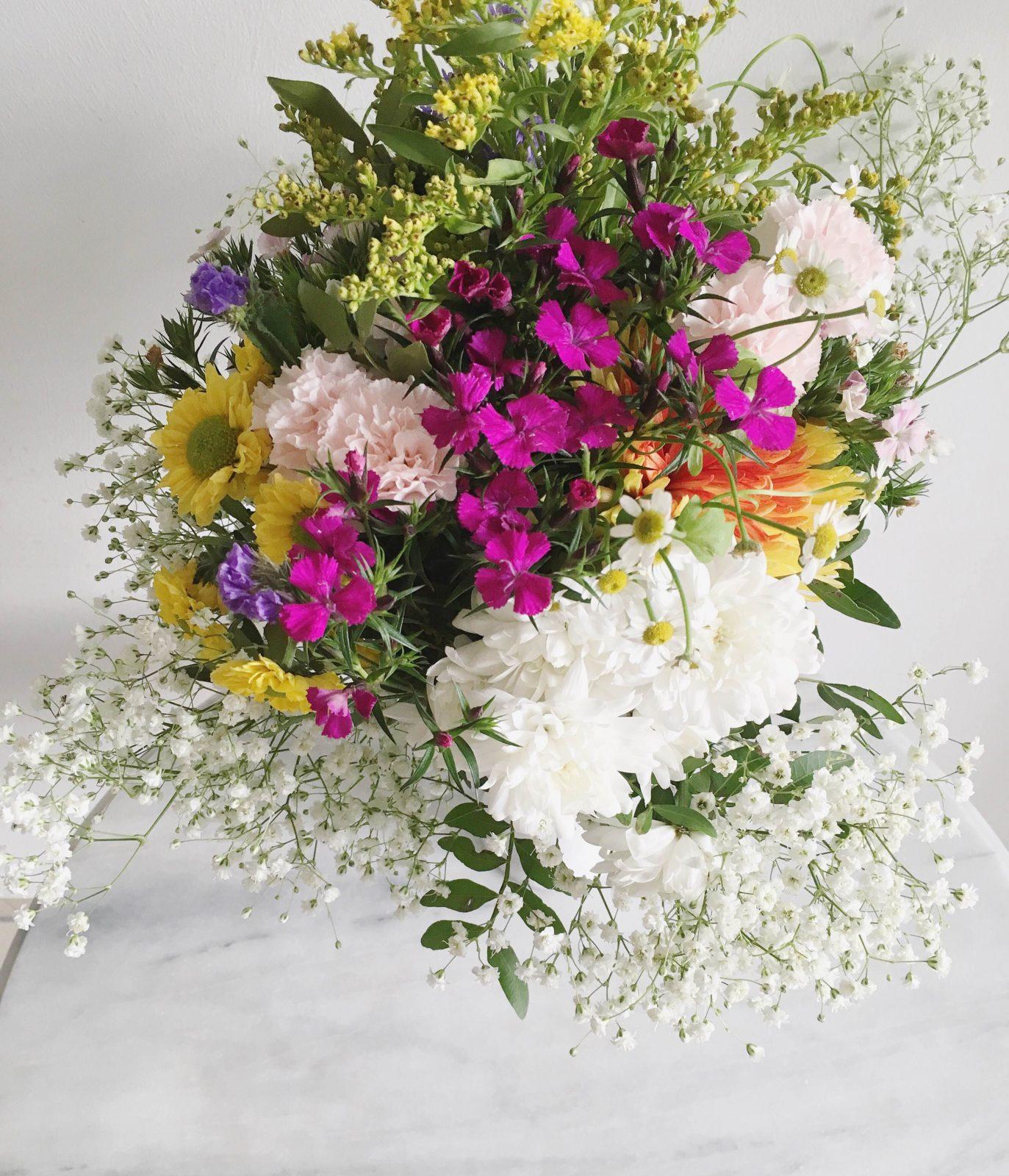 Pinspiration Oster Blumenstrauß