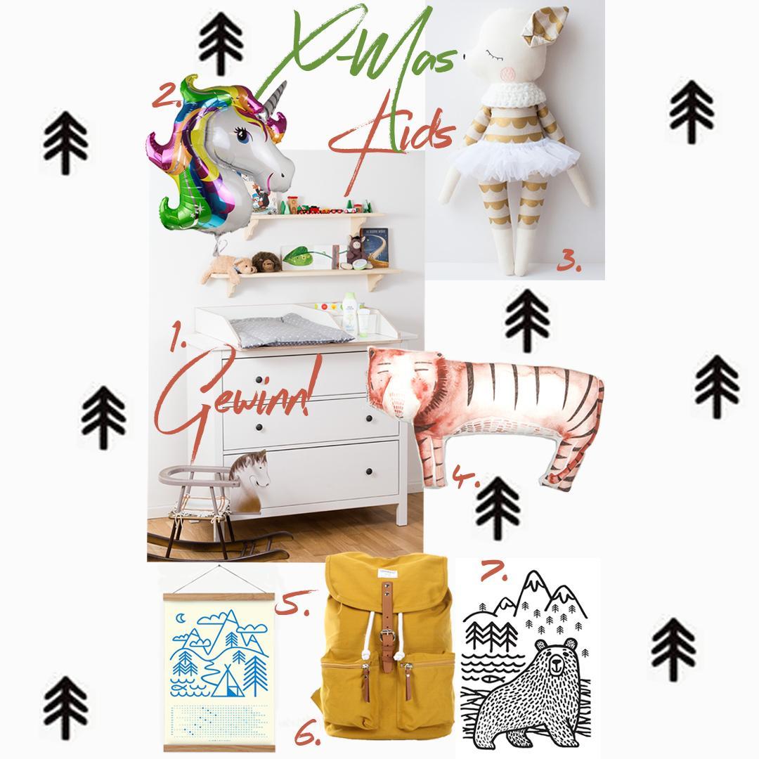 Weihnachtsgeschenke 2016 für Kinder & VERLOSUNG