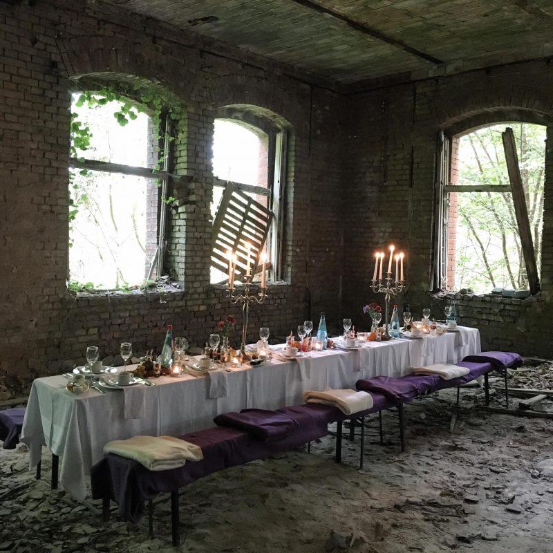Instawalk der Flaeming Belitzer Heilstätten Brandenburg