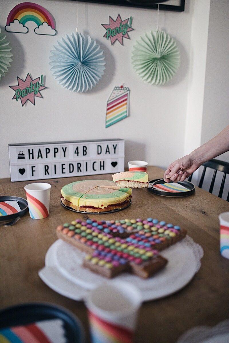 Friedrichs spritziges Regenbogen-Kindergeburtstags-Frühstück   Henkell x Pinspiration