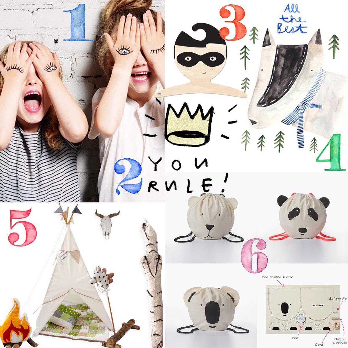 Collage Pinspiration Kindertag 2015