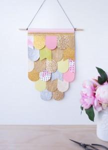 LAURA BLYTHMAN DIY Papier Wandkunst