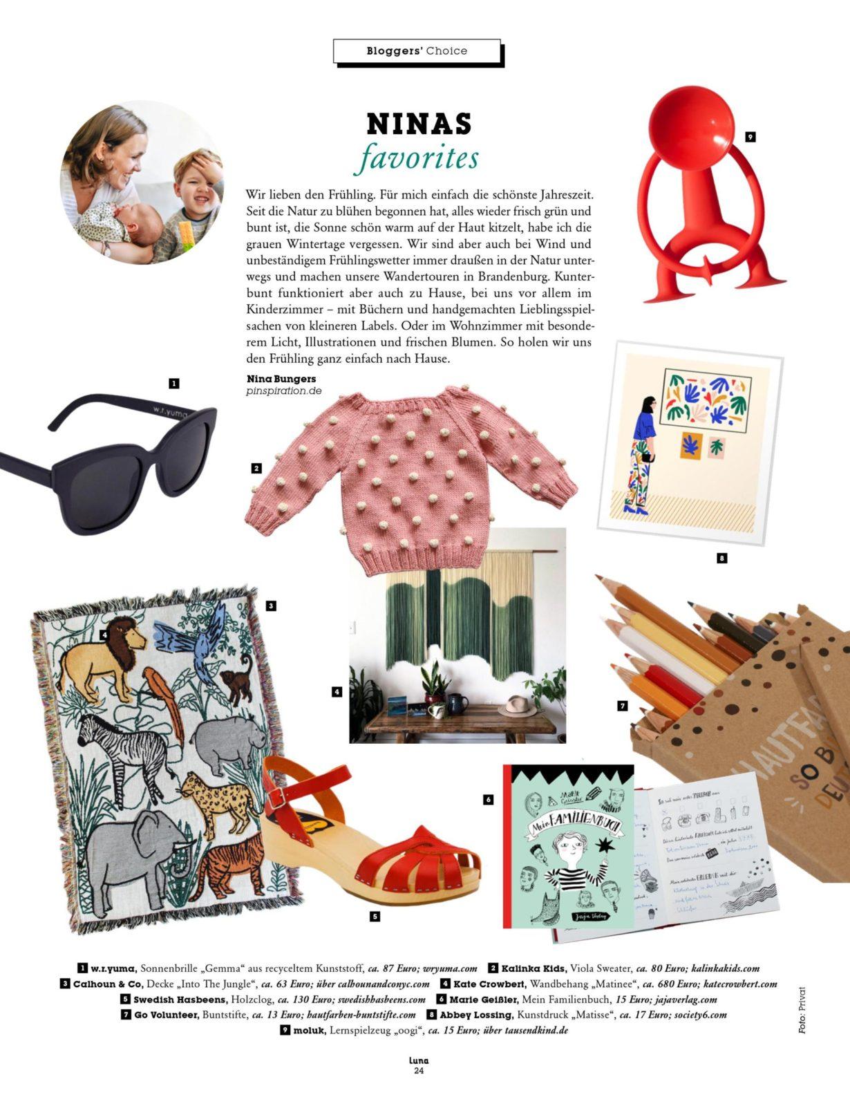 Frühlingslieblinge für Baby, Kleinkind und Mamas & Verlosung | #Pinterest #Lieblingsprodukte | Pinspiration.de