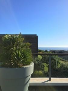 Martinhal Family Beach Resort Sagres Blick Fruehstuecksterasse