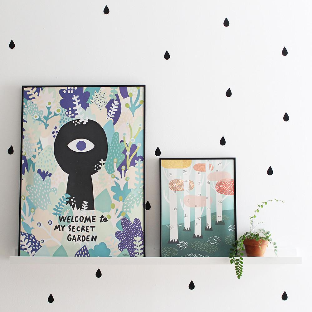 Michelle Carlslund Forest Poster